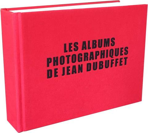 Jean Dubuffet photographic albums