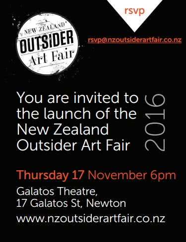 New Zealand Outsider Art Fair 2016